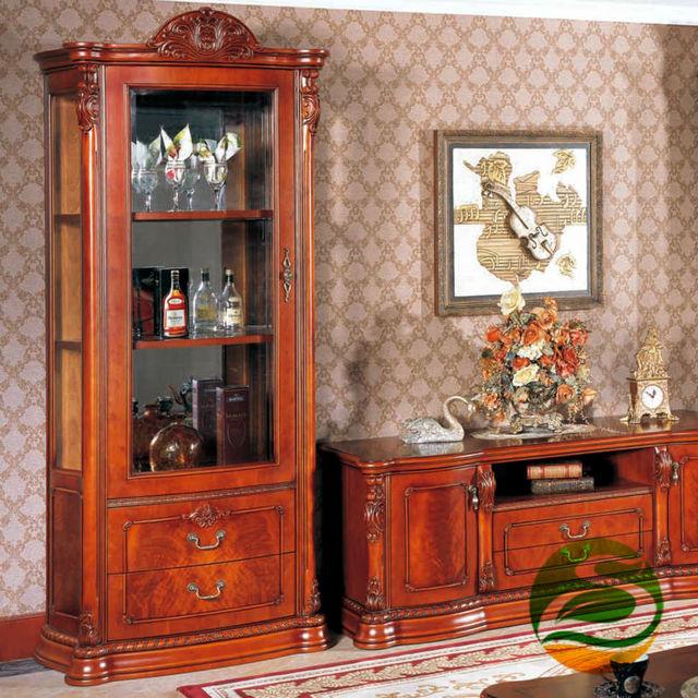 Wine cooler Classic wood wine cabinet Single Door