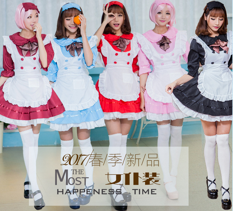 french anime beer adult <font><b>naughty</b></font> halloween sissy maid <font><b>dress</b></font> cosplay <font><b>sexy</b></font> maid costumes women cosplay lolita pink black japanese image