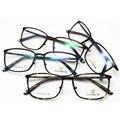 Exceder luz tungstênio titanium aço plástico spectacle frame alta arquivos vai picture frame quadro maré homem óculos de miopia