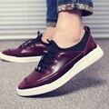 2017 Homens Novos Da Marca Sapatos Flats De Couro Genuíno de Condução Sapatos Da Moda Confortável Respirável Masculino Sapatos Casuais Ao Ar Livre Cinza Marrom