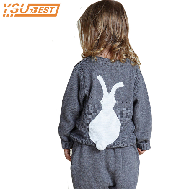 c0ee97c2b 2018 fall New Arrival Casual Knitted Cute Bunny Baby Girls Sweater 1 ...