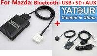 Yatour автомобиль аудио bluetooth комплект для Mazda 2 3 6 CX7 RX8 автомобиля MPV Mp3 плеер USB SD AUX цифровой cd чейнджер Yt m06