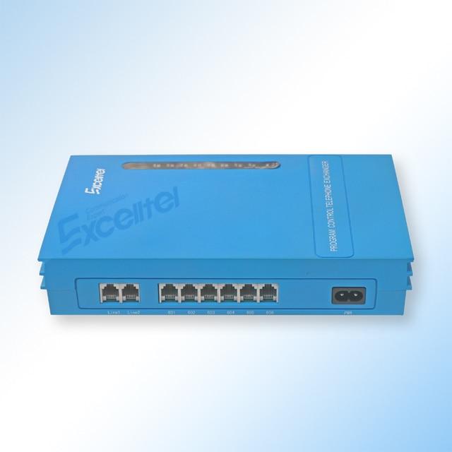 Switch System Mini PABX Office PBX 2 PSTN line 6 extension MS206