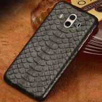 Luxury brand mobile phone case python Half pack mobile phone case For huawei P10plus mobile phone case custom processing