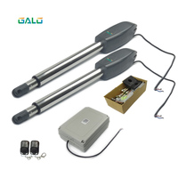 Galo 300kg per leaf gate open use electric swing gate opener motor operator with keypad lamp photocell color kit Optional