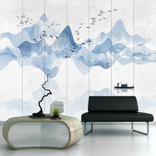 Custom wallpaper murals landscape painting abstract TV background wall - high-grade waterproof material
