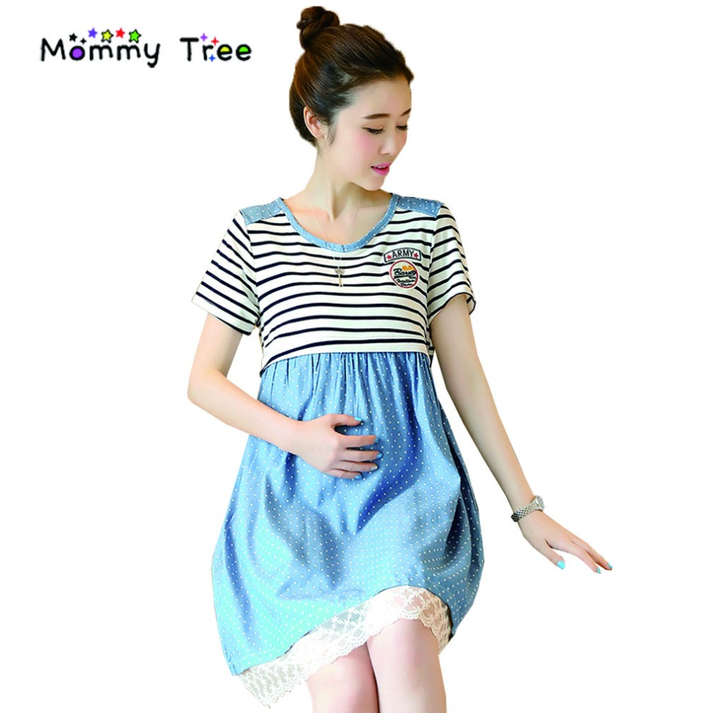 Maternity Dresses For Pictures Blue | RLDM