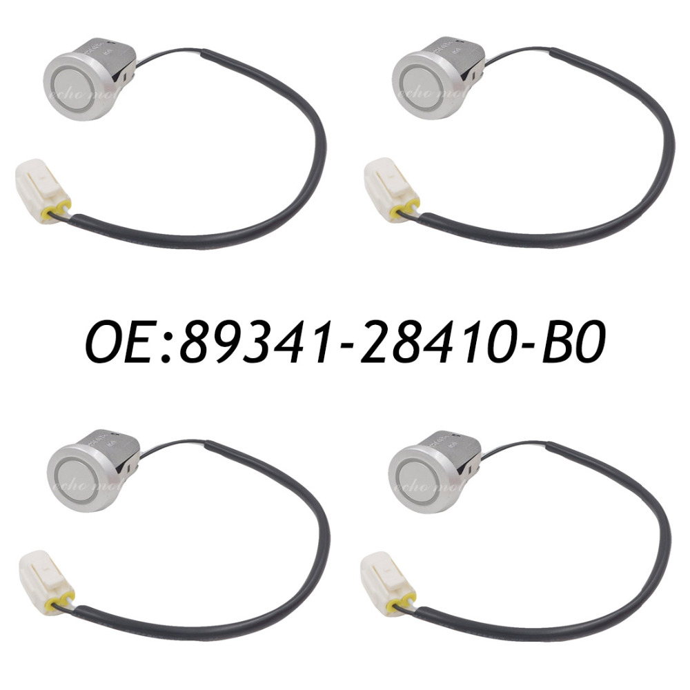 New 4PCS 89341-28410-B0 Clearance & back sonar Parking Sensor for Toyota Previa Tarago ACR30 CLR30 89341-28410 4pcs pdc ultrasonic parking disatance control sensor for toyota 89341 53030 8934153030 89341 53030