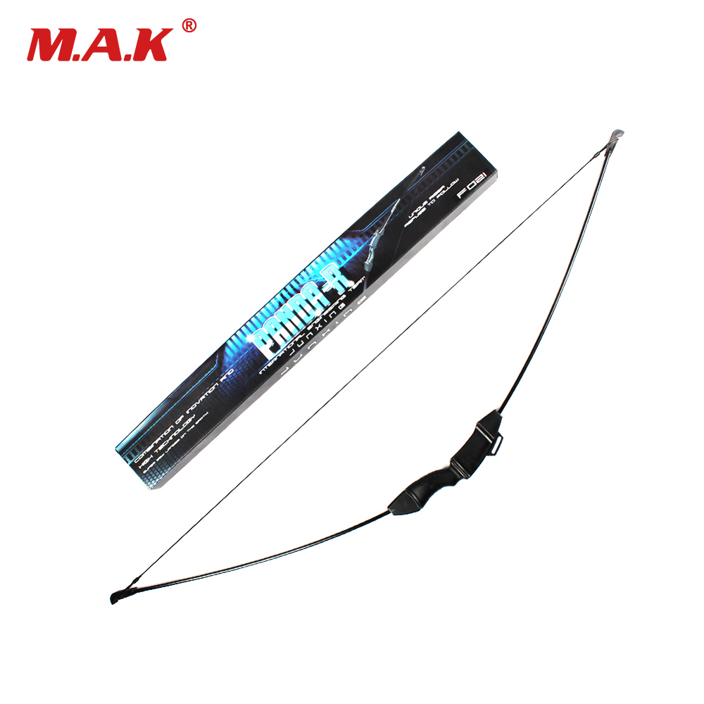 Straight Bow Set Draw Weight 15 LBS Bow Length 45.2 Inches for Children Archery Training Toy Games Hunting Shooting shooting straight