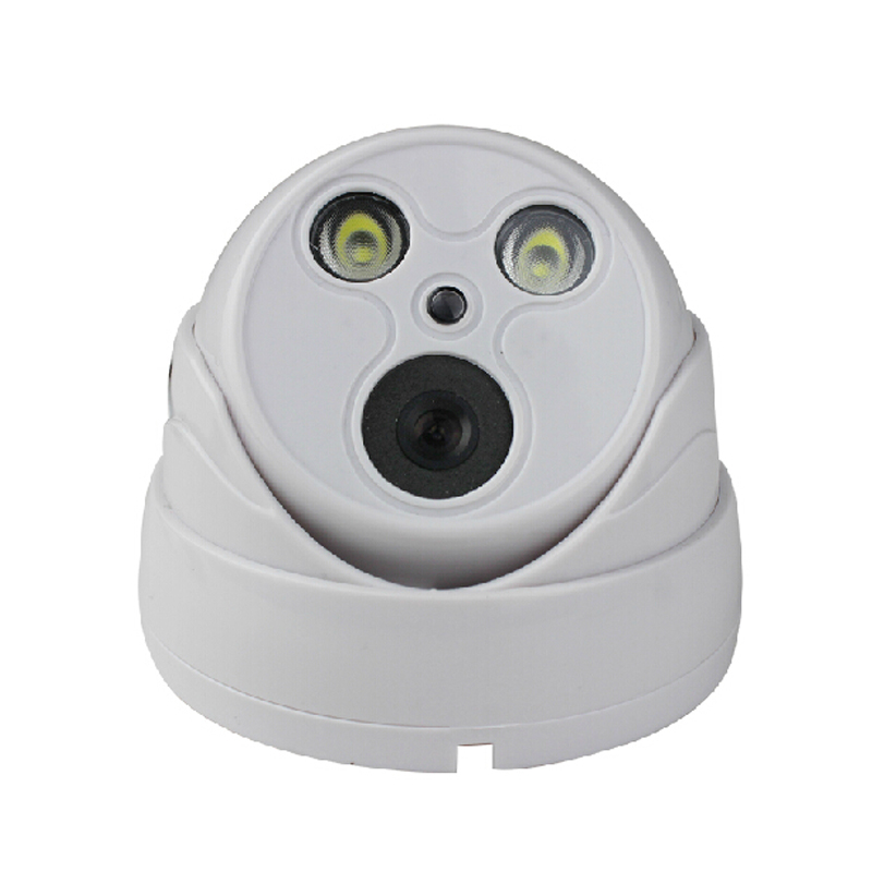ФОТО POE + Audio 2.0MP 1080P IP Dome Camera Indoor Security P2P Night Vision Plastic