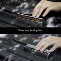Upscale Car Sticker Car Temporary Parking Card For BMW E39 E90 E60 E36 X5 E53 F30