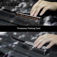 Upscale Car Sticker Car Temporary Parking Card For BMW E39 E90 E60 E36 X5 E53 F30
