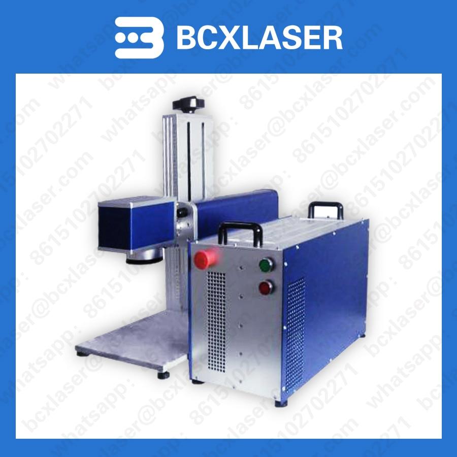 Fabrik liefern 10 w/20 w/30 w/50 w/fiber laser kennzeichnung gravur schneiden maschine für metall