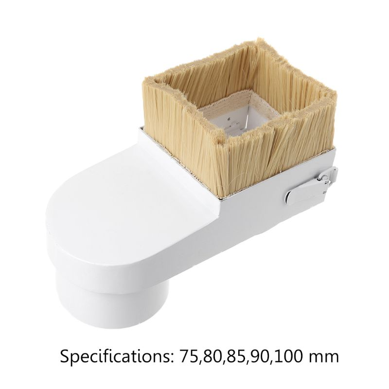 75/80/85/90/100mm Spindle Dust Shoe Cover Brush Cleaner For CNC Router Milling Machine Woodworking Tools цена