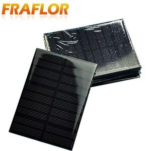 Image 5 - 10ชิ้น/ล็อตขายส่งDIY 1W 5V 200mA Solar Panel Chargerพลังงานแสงอาทิตย์โมดูลชาร์จสำหรับ3.6Vแบตเตอรี่หรือLi Ion Battry 110*80มม.