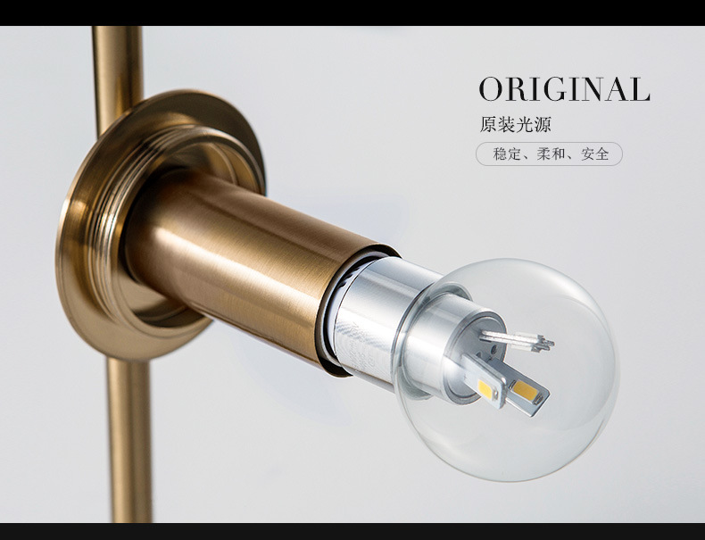 Modern LED Table Lamp Desk Lamp Light Shade Glass Ball Table Lamp Desk Light for Bedroom Living Room Floor Conner Gold Designs (26)