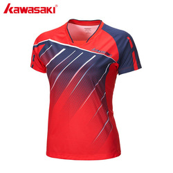 Kawasaki clothes women tennis t shirt breathable badminton shirt quick dry short sleeve summer fitness gym.jpg 250x250