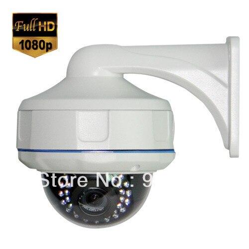 HD SDI Security Dome 30IR Camera 1080P 1/3 Panasonic CMOS Sensor 2.8 12mm Lens