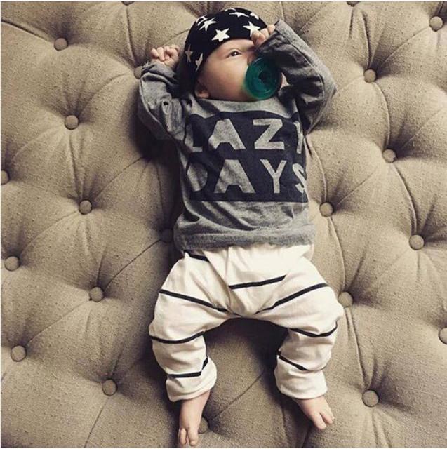 Baby Boy Clothing Set Fashion Cotton Long-Sleeved