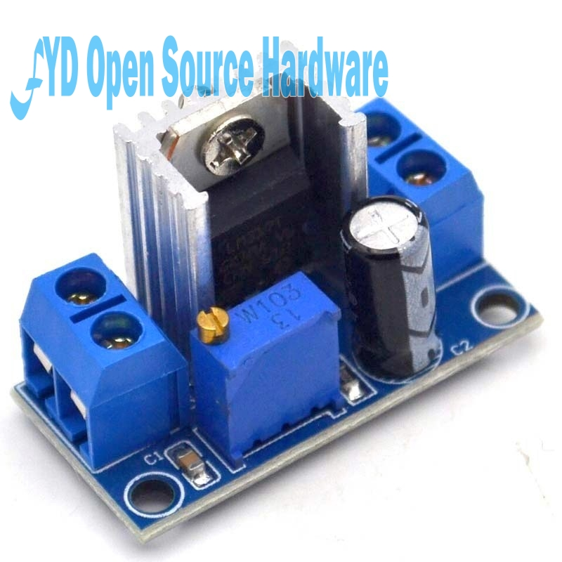 Lm317 Dc Dc Converter Buck Step Down Circuit Board Module