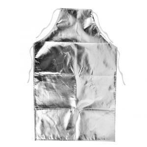 Image 2 - 1000 °C Heat Resistant Aluminum Foil Apron High Temperature Working Apron