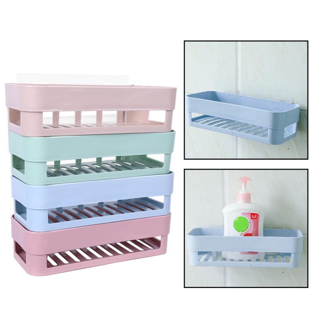 Wall Mounted Dishes Rack Bathroom Soap Dish Wall Storage Rack ...