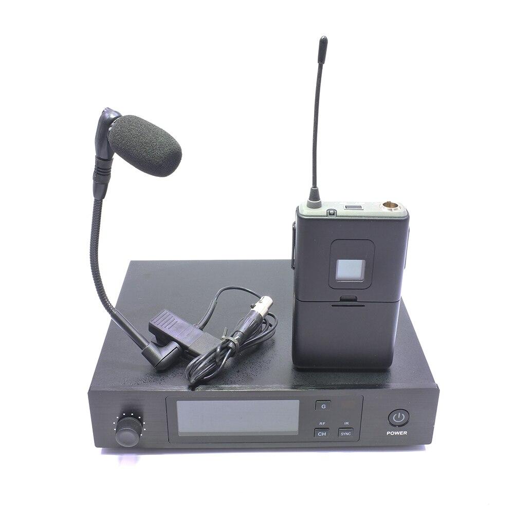Beta98HC Gooseneck Clip Mic UHF Band SLX1 Style Transmitter Saxophone Trumpet Flute Instrument Wireless Microphone System