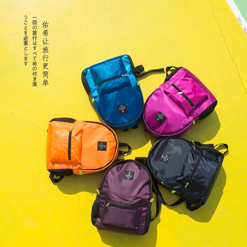 Women Nylon Waterproof  Backpacks Journey Rucksacks Portable Hand Backpack For Teenagers Girls Ladies School Travel Shoulder Bag #4