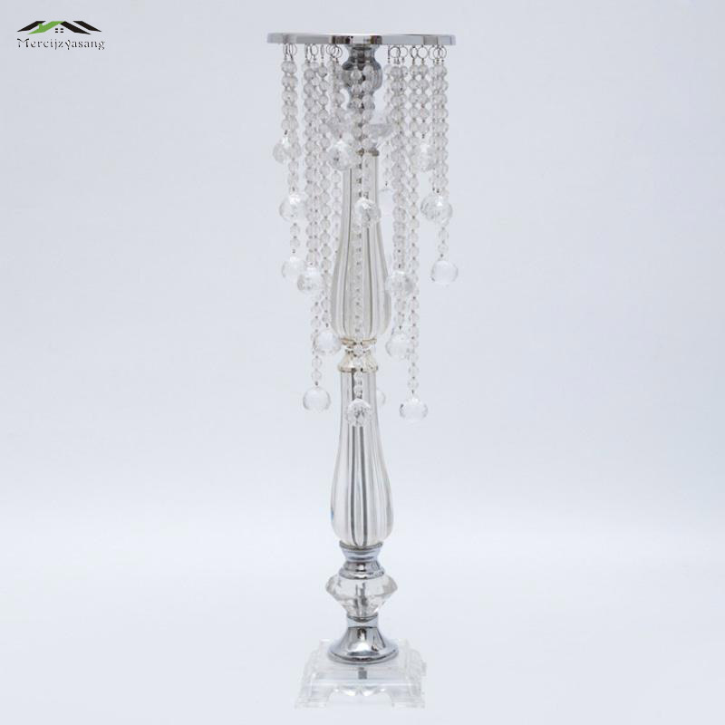 10Pcs/Lot New Wedding Road Lead 72Cm Tall Acrylic With Crystal Europe Wedding Centerpiece Event Party Decoration Deco Mariage10Pcs/Lot New Wedding Road Lead 72Cm Tall Acrylic With Crystal Europe Wedding Centerpiece Event Party Decoration Deco Mariage
