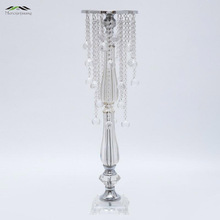 10Pcs/Lot New Wedding Road Lead 72Cm Tall Acrylic With Crystal Europe Wedding Centerpiece Event Party Decoration Deco Mariage