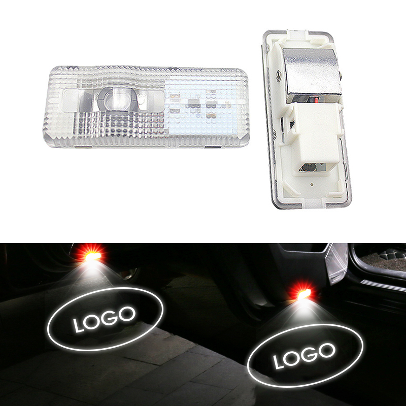 3D LED Welcome Door Lights Car Original Welcome Lamps Replacement HD Shadow Projector For Citroen C5 C4L C Triomphe C Quatre new in Decorative Lamp from Automobiles Motorcycles