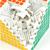 ShengShou 9x9x9 Cubo Mágico Profissional Cubo Magico PVC Adesivos cobo Atacado Metalizada Cubiks Juguetes Brinquedos Educativo