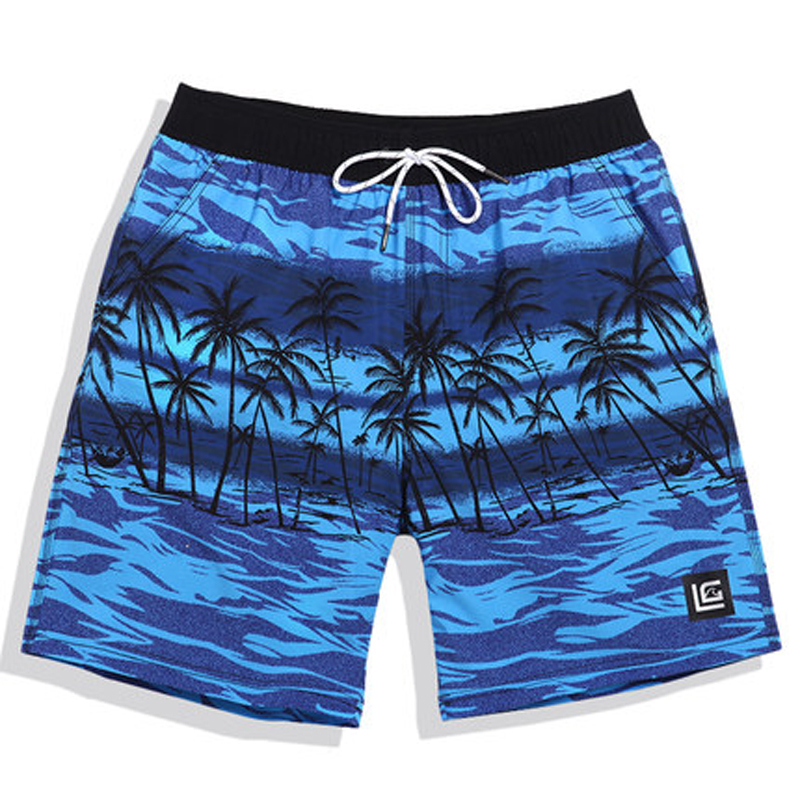 Board     Shorts   Quick Drying Men Beach Swim   Shorts   Polyester Swimming Trunks for Bathing Men's Sportswear Surfing Boardshorts