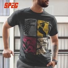 Game Of Thrones Vintage Tees Men T Shirt
