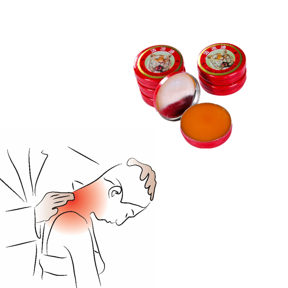 Real Tiger Balm Pain Relief Cream Neck Waist Shoulder Joint Pain Analgesic Ointment Medical Relieve Pain Treatment Essential Oil