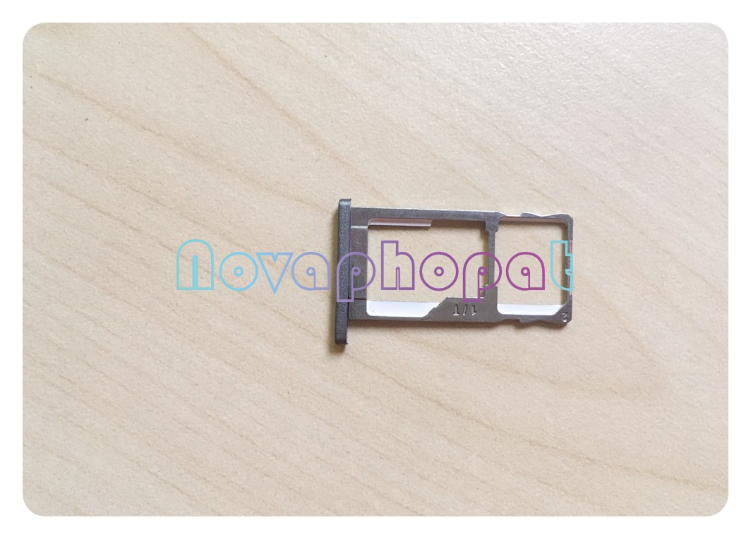 Novaphopat For <font><b>Meizu</b></font> <font><b>M2</b></font> <font><b>Note</b></font> <font><b>SIM</b></font> Card <font><b>Tray</b></font> Holder Micro SD Slot Socket Adapter Replacement ; 10pcs/lot image