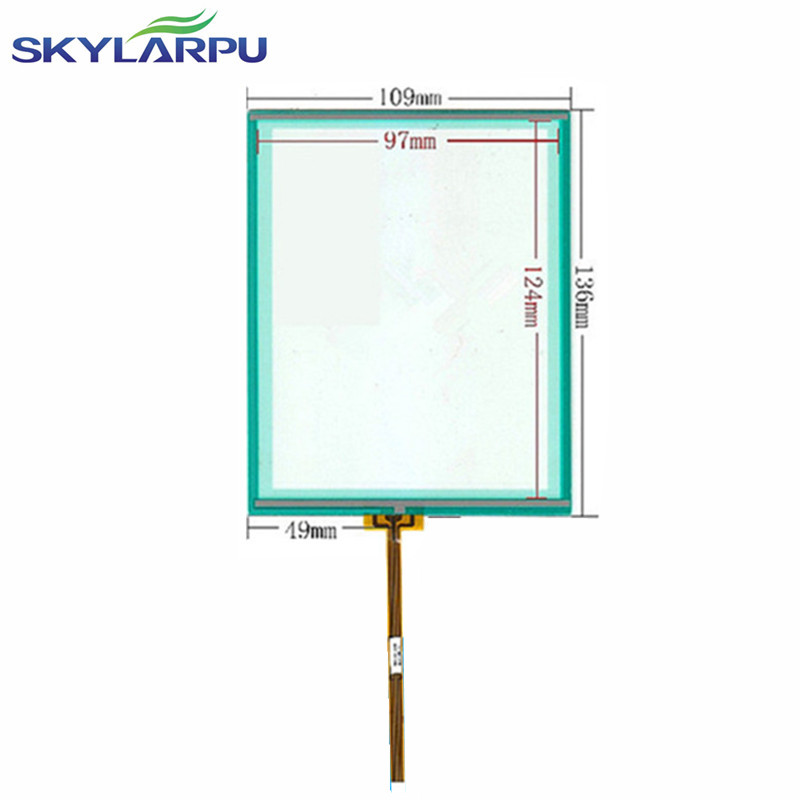 New 5 7 inch 4 wire Resistive Touch Screen Panel 136 109mm Touch screen digitizer panel