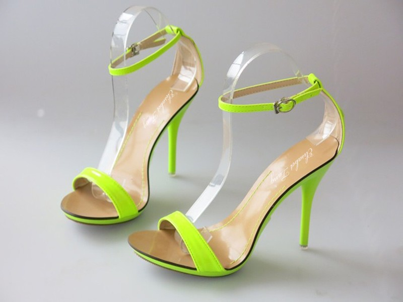 e12a4a97276 Women Sandals New Sexy High Heel Gladiator Sandals Women Ladies Fashion  Contract Candy Color Sexy Peep Toe Dancing Sandals-in Women's Sandals from  ...