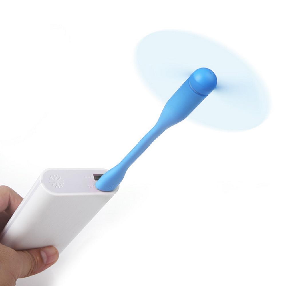 Nuevos Gadgets electrónicos Gadget Ventilador Led Usb Mini ventilador Portátil Flexible USB Enfriador del ventilador de refrigeración para computadora portátil