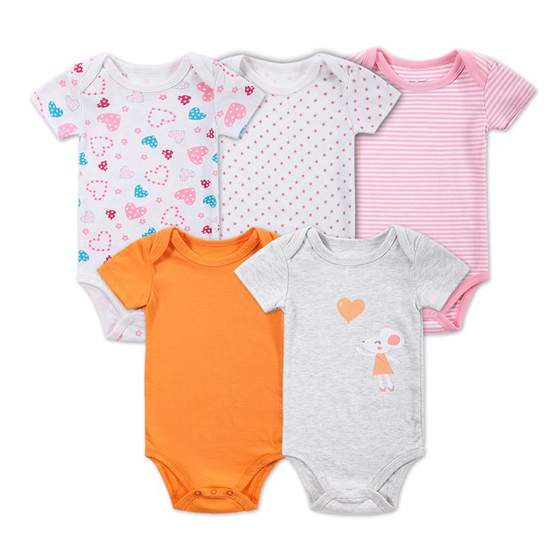 Aliexpress.com : Buy 5 Pieces/lot Baby Girl Clothes Baby ...