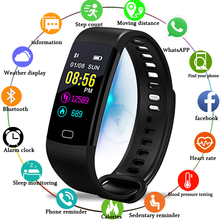 Smart Watch Women Heart Rate Blood Pressure Monitor Smart Band Pedometer Smart Bracelet fitness tracker Sport Smartwatch men+Box