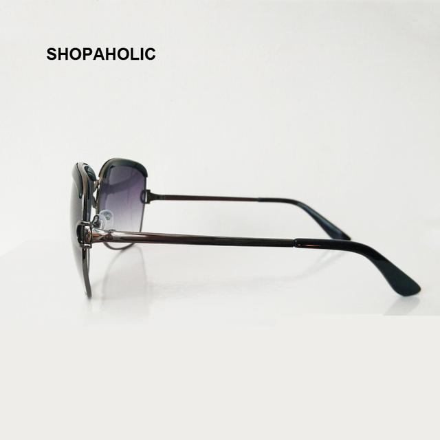 Luxury Brand Sunglasses Women Fashion Black Retro