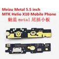 Para o metal MTK Helio x de carregamento porto Dock Connector com microfone Micro USB carregador de substituição
