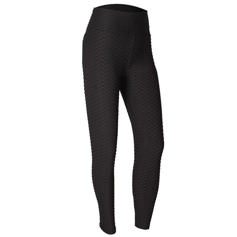 Di modo di Alta Vita di Fitness Ghette Delle Donne di Allenamento Push Up Legging di Colore Solido Bodybuilding Jeggings Pantaloni Donna