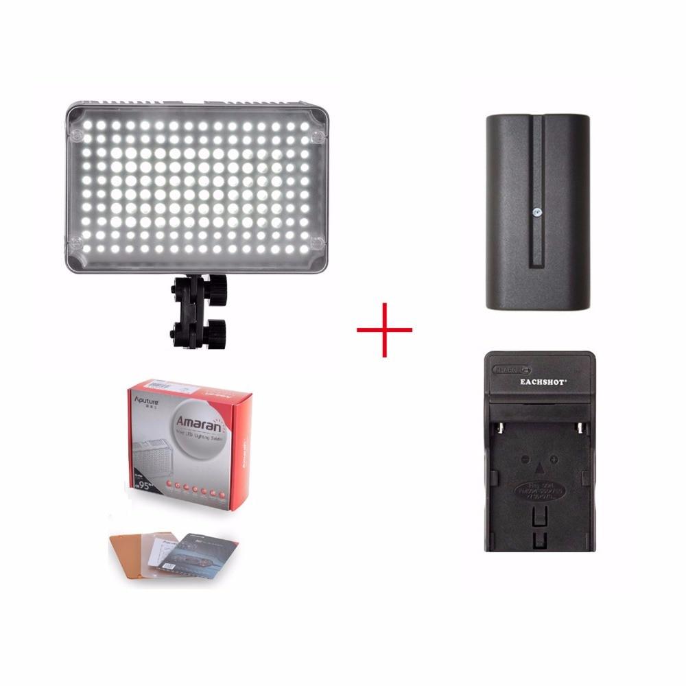 Aputure AL-H160 CRI95+Amaran 160 LED Video Light + Battery +Charger,Amaran AL-H160 CRI95 Video Light,for Canon Nikon SONY Camera