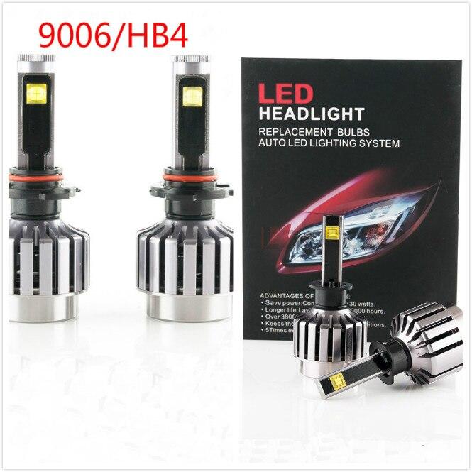 2016 nouveau 9006 HB4 2 pièces 30 W Kit de phare LED de voiture LED ampoule de remplacement phare antibrouillard lumière 6000 K 12 V 24 V pas besoin de relais de Ballast