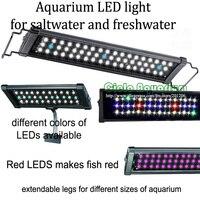60 72/150CM 180CM Hi Lumen Freshwater plant saltwater marine Aquatic pet Aquarium Fish tank LED Light Lighting fixture Lamp
