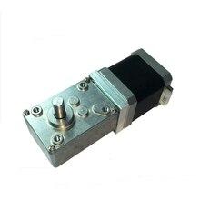 купить Reinforced 42 stepper motor,A58SW-42BY  12V worm gear motor, 24V high torque motor, 1.5A all-metal gear по цене 3289.13 рублей