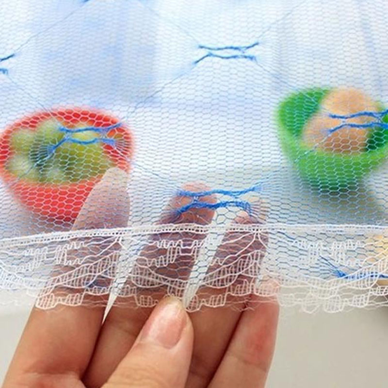 Hot Sale 35cm Food Umbrella Cover Picnic Barbecue Party Sports Fly Mosquito Net Tent Mesh Fly Wasp Insect Net Random Color