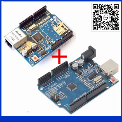 1pair only good quality Ethernet W5100 font b network b font expansion board SD card Shield
